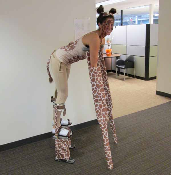 Giraffe Halloween Costume & Giraffe Halloween Costume | Pumps u0026 Iron