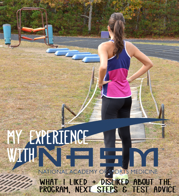 My Experience with the NASM Personal Trainer Certification Program ...