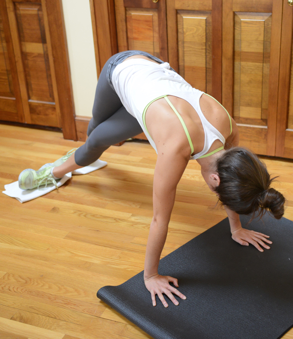 A Makeshift Megaformer Ab Workout You Can Do At Home All Need Is