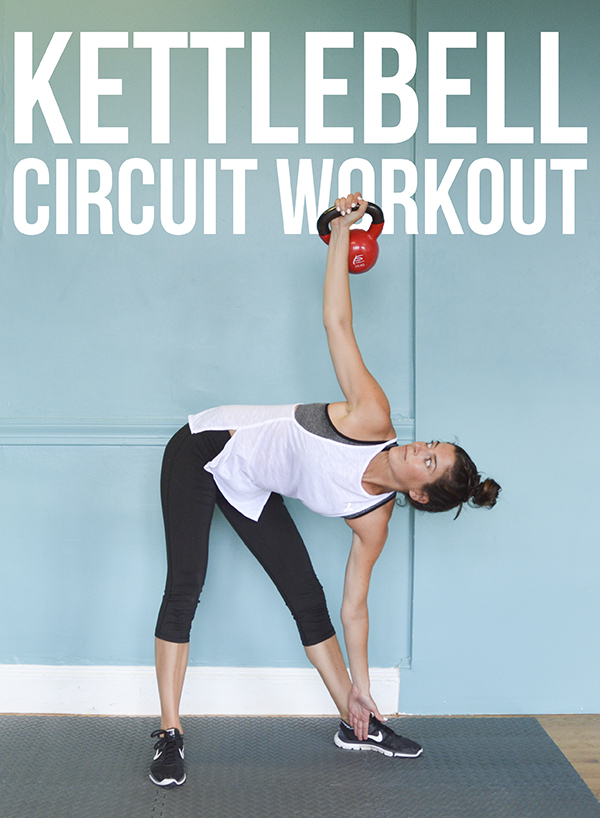 This Kettlebell Circuit Workout Will Take You 18 Minutes To Complete 45 Seconds Work
