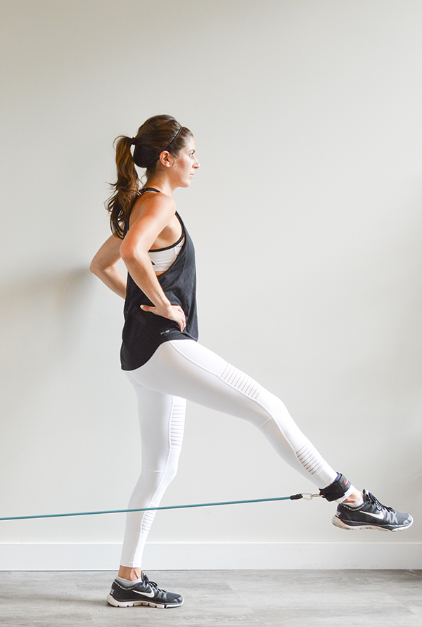 This workout is sponsored by ProSource. All opinions\u2014as always!\u2014are my own. I appreciate your support of the brands that make this blog possible. & Full-Body Resistance Band Workout with Door Anchor | Pumps \u0026 Iron
