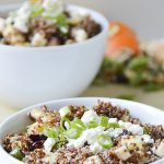 Apple Feta Quinoa Salad - this is great on its own or as a side to your favorite protein