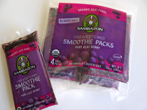 Sambazon acai berry packets