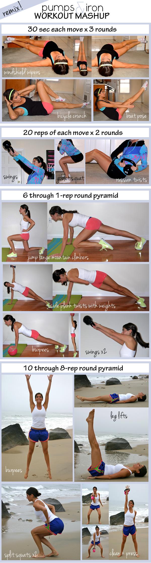 Pumps & Iron workout mashup
