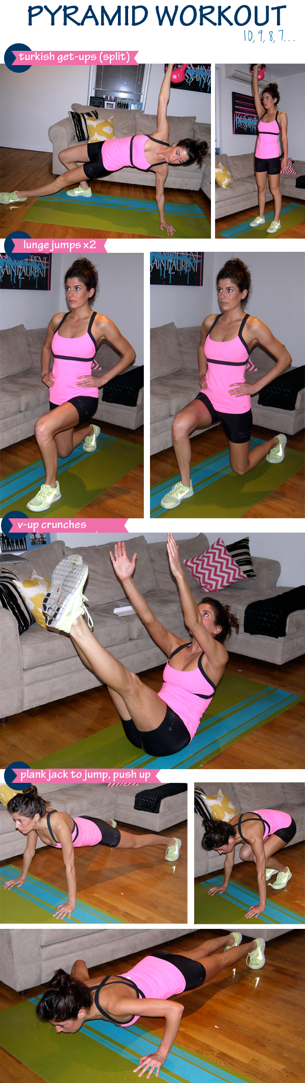 40-minute pyramid workout