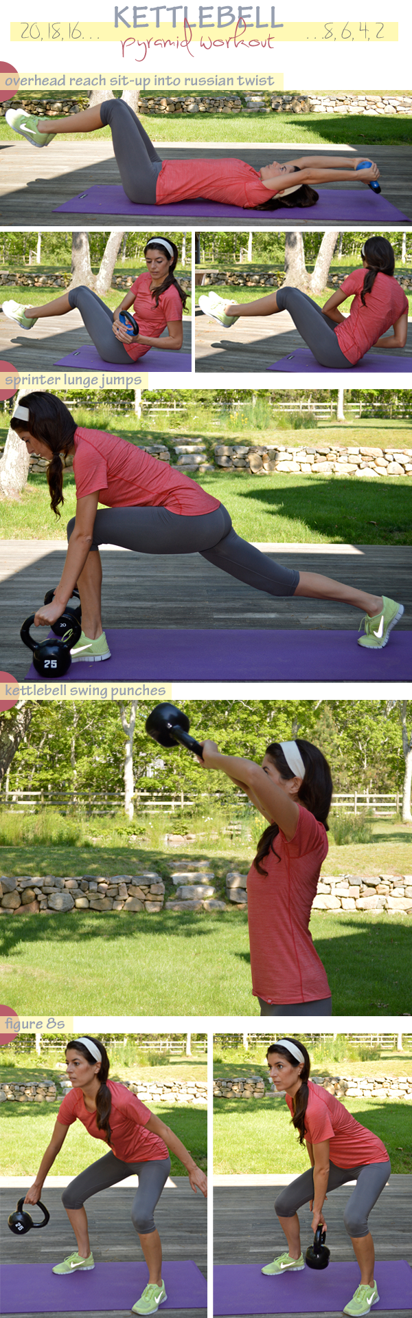 Kettlebell Pyramid Workout