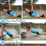 Quick Power Wheel Workout