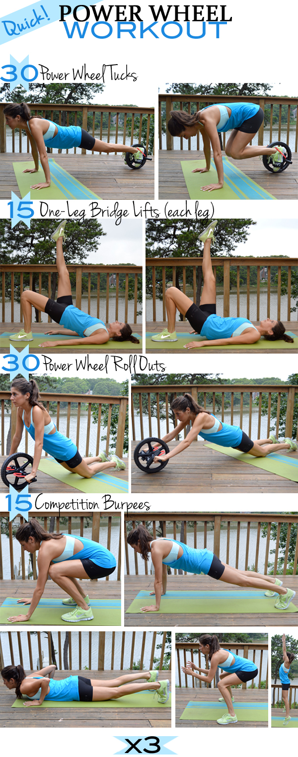 Quick Power Wheel Workout