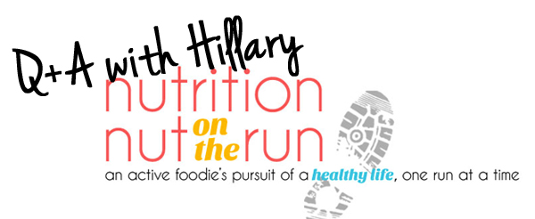 Q&A with Hillary from Nutrition Nut on the Run