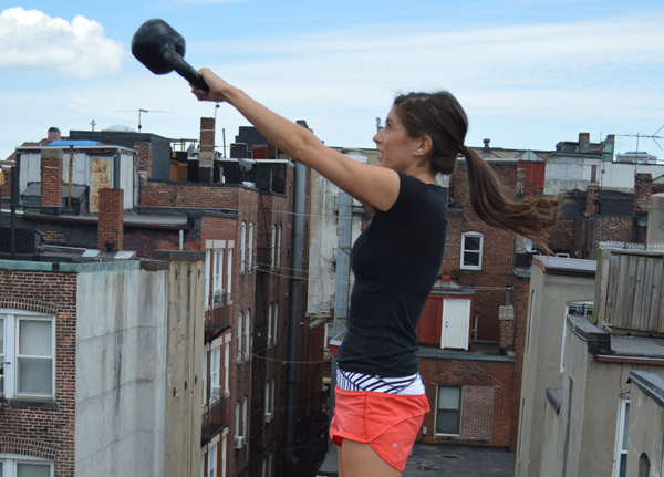 15-Minute Kettlebell AMRAP Workout