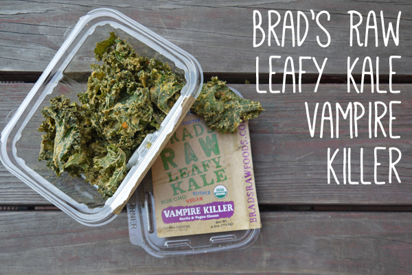 Healthy Snacks from Whole Foods: Brad's Leafy Kale