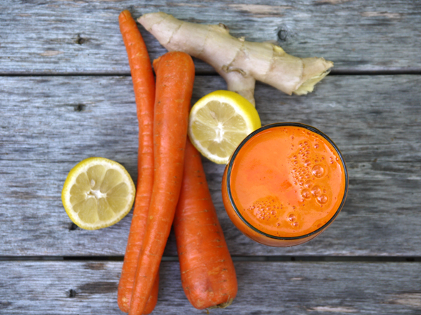 Sunday Squeeze: Citrus Carrot Ginger Juice