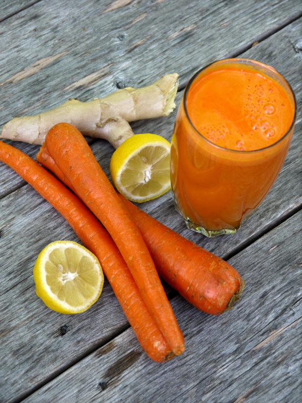 Citrus Carrot Ginger Juice