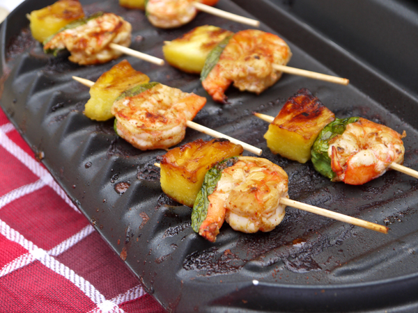 ... glazed shrimp grilled shrimp pineapple pineapple shrimp skewers