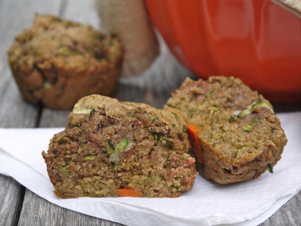 Juice Pulp Zucchini Muffins