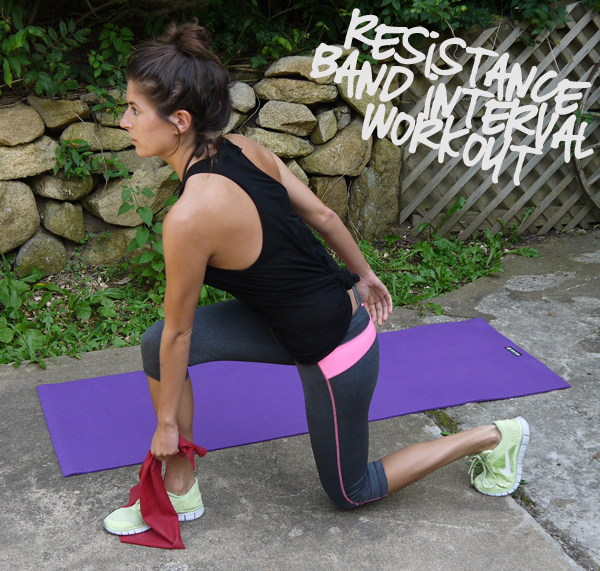 Resistance Band Interval Workout