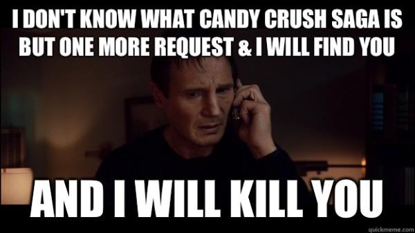 Candy Crush meme