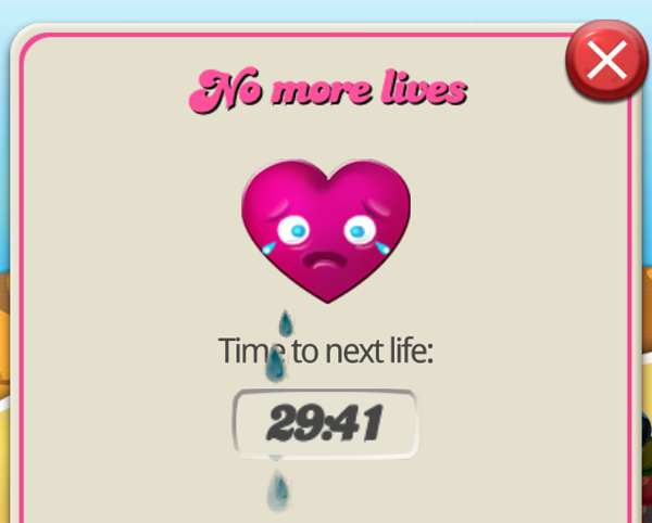 Candy Crush Saga No Lives