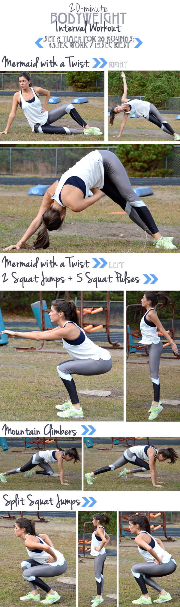 20-Minute Bodyweight Interval Workout