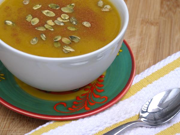 Butternut Squash & Apple Crock Pot Soup