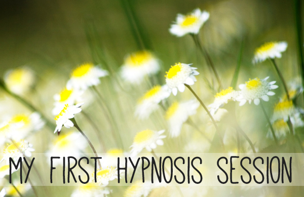 My first hypnosis session