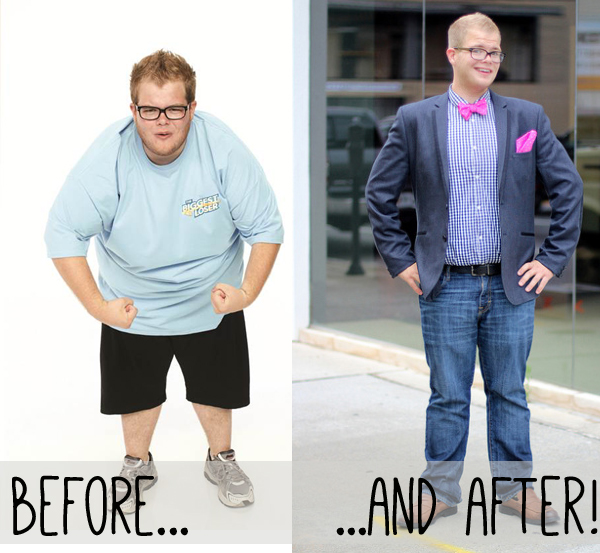 Before & After: Jackson from Biggest Loser
