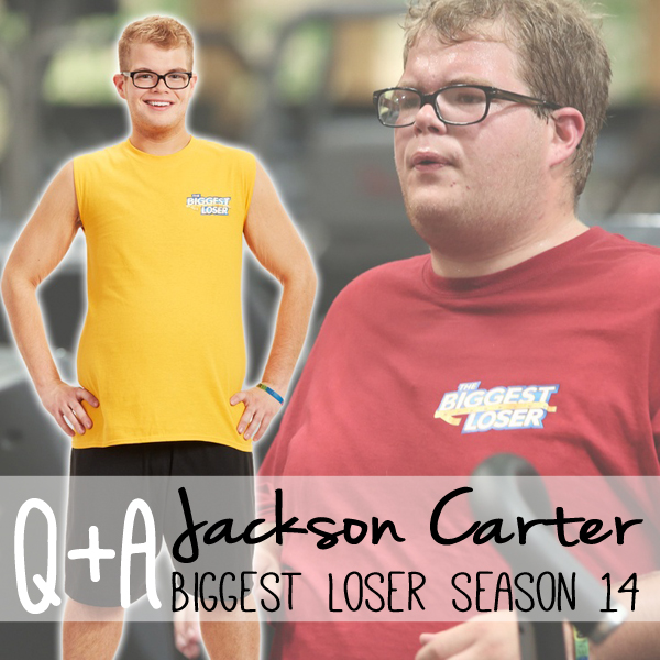 Q&A with Jackson from Biggest Loser