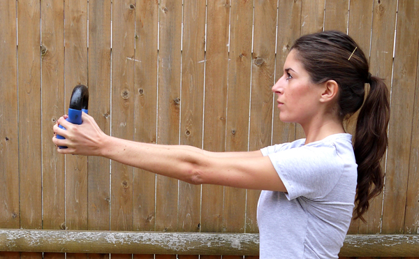 Upper Body Kettlebell Workout