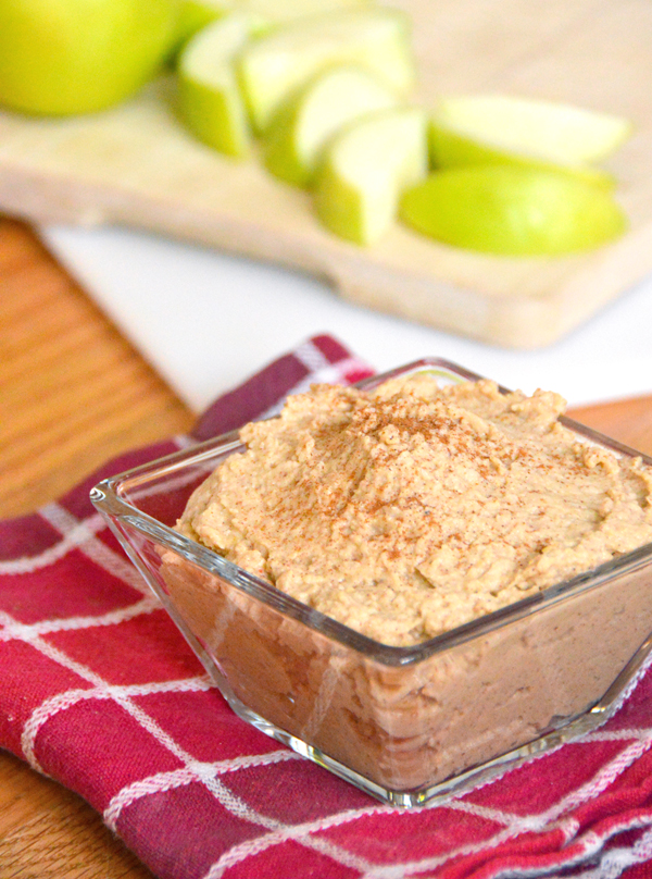 Apple Pie Hummus