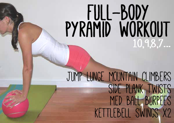 Full-Body Pyramid Workout
