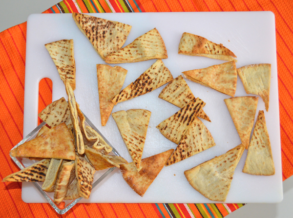 Easy Homemade Baked Pita Chips