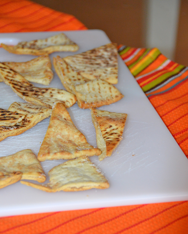 Homemade Baked Pita Chips