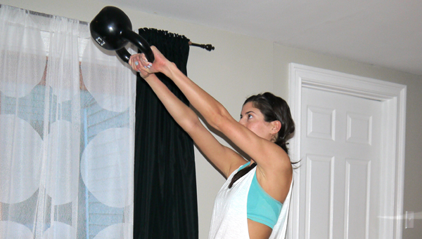 20-Minute Kettlebell Swing Core Workout