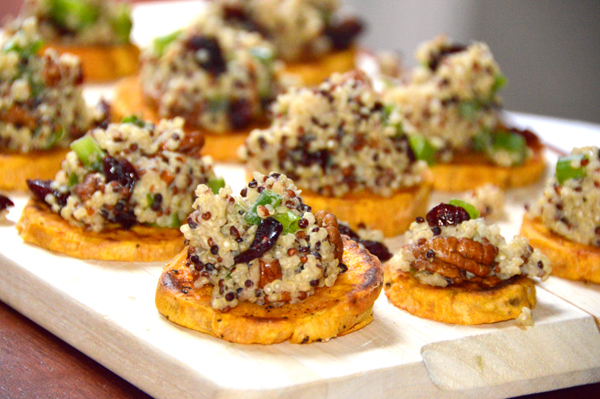 Quinoa Sweet Potato Rounds