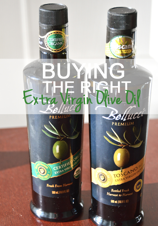 How to Buy the Right Extra Virgin Olive Oil