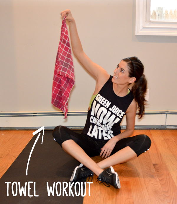 Tabata Towel Workout