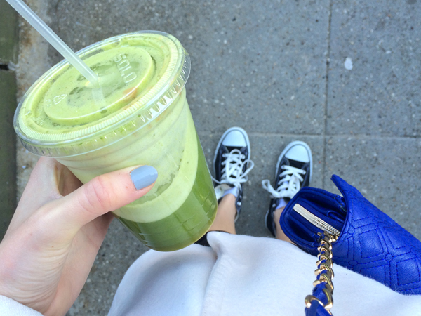 Green Juice from Jugos Boston