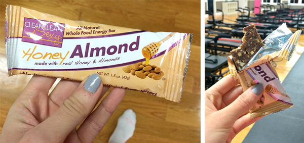 Honey Almond Whole Food Energy Bar from Clean, Lean & Sexy