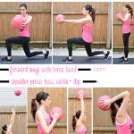 Medicine Ball Pyramid Workout