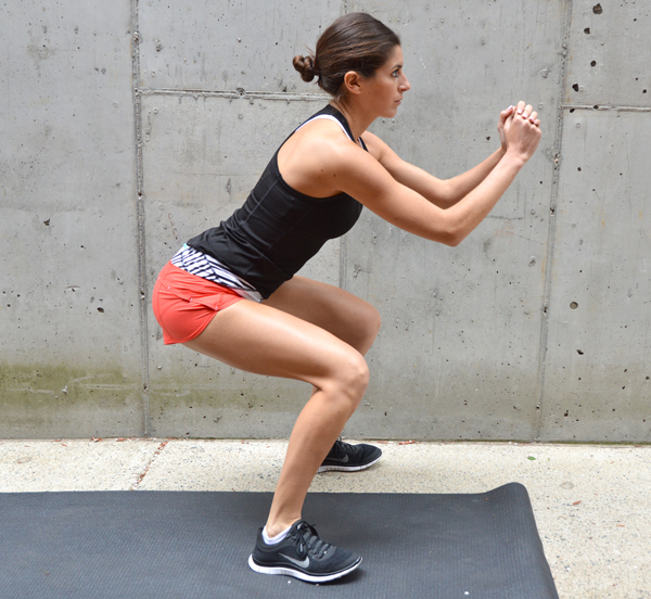 Barry's Bootcamp-Inspired Hotel Gym Workout--treadmill intervals & strength training intervals