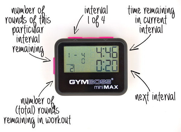 How to Use a Gymboss miniMax Interval Timer
