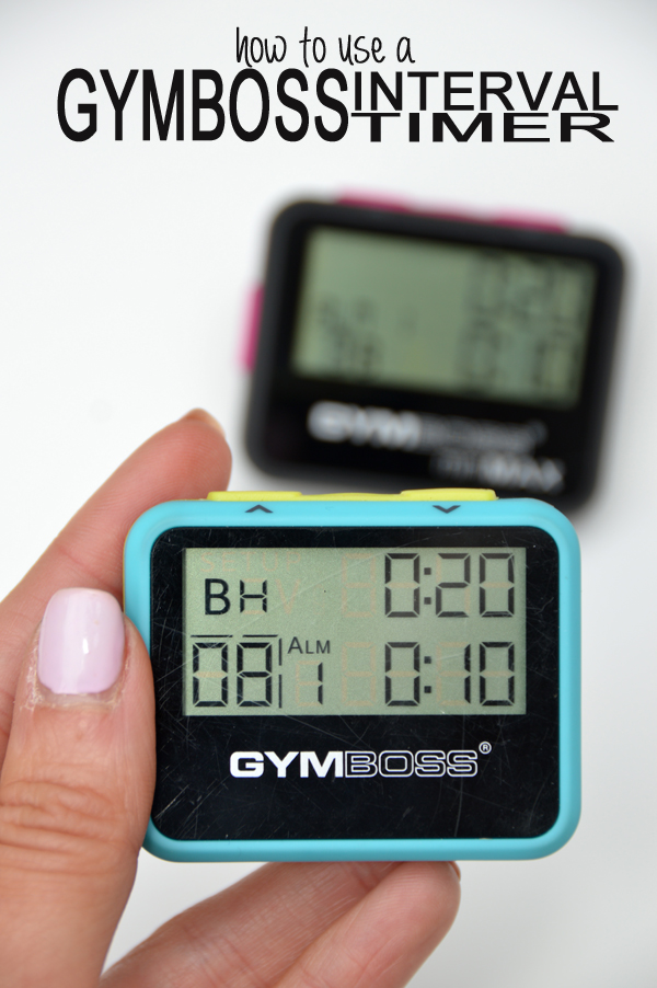 How to Use a Gymboss Interval Timer