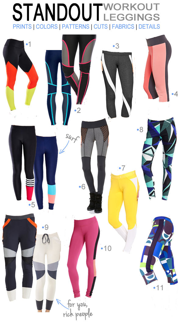 Standout Workout Leggings and Sweats