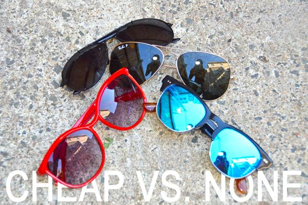 No Sunglasses Vs  Cheap Sunglasses  When It Comes To Uv
