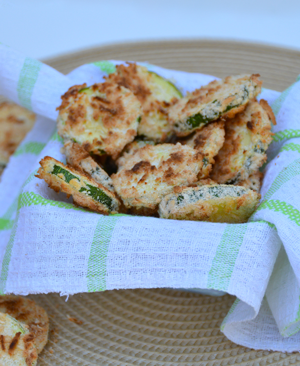 Coconut Encrusted Zucchini Rounds