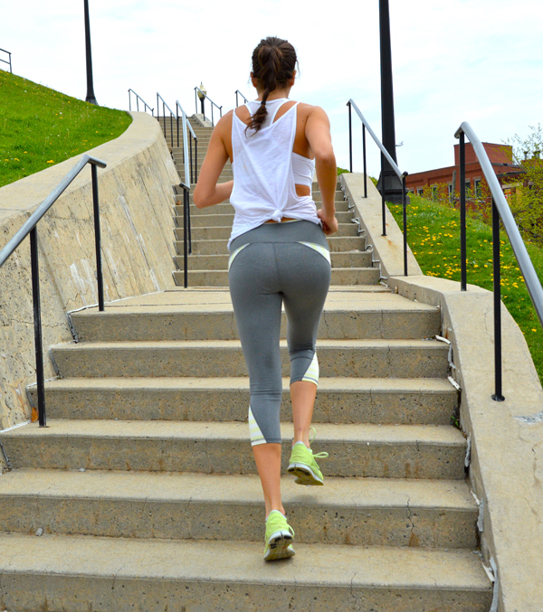 Stair/Stadium Bodyweight Bootcamp Workout