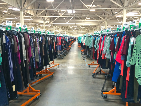 "The Stitch Fix ""Hizzy"" Warehouse"