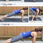 Burpee Breakdown AMRAP Pyramid Workout