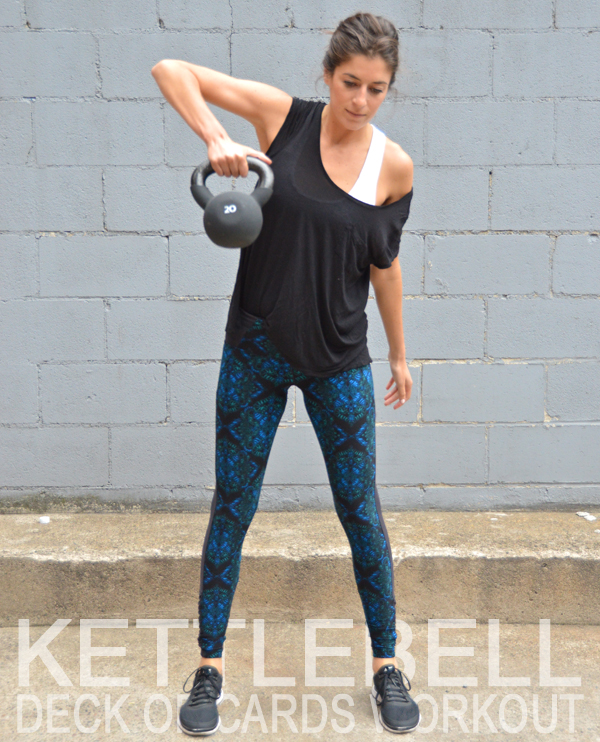 Kettlebell Deck of Cards Workout