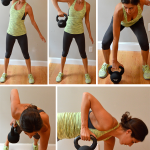 Upper-Body Kettlebell Interval Workout